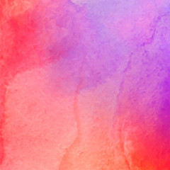 Abstract purple pink watercolor texture background.