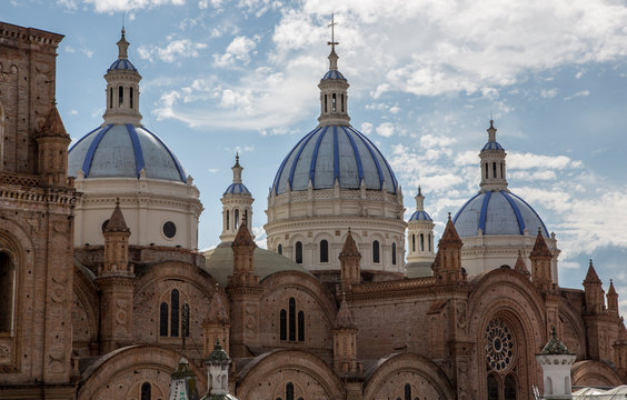 New Cathedral Domes rise over Cuenca, Ecuador in Iconic Image of the City