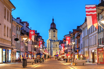 Grand Rue, Morges, Switzerland