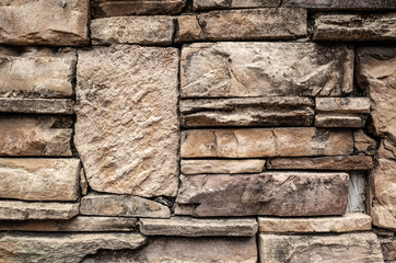 stone stacked wall background