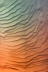 Abstract texture picture with sand near to beach