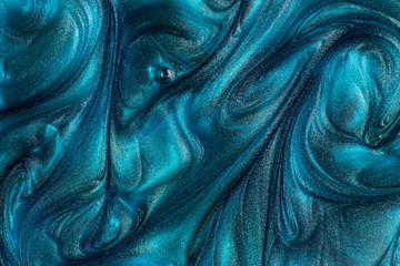 Abstract turquoise metallic background