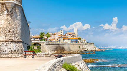 Historic center of Antibes, French Riviera