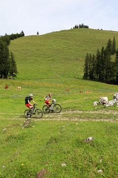 Mountainbiken im Chiemgau