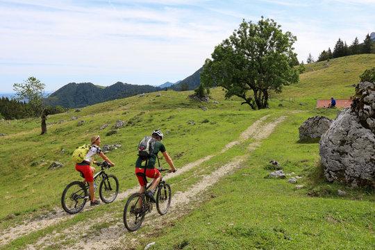 Biketour im Chiemgau