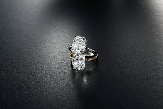 Diamond Rings Stacked