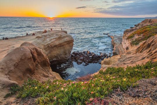 Sunset on Sunset Cliffs