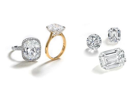 Diamond Rings and Loose Diamonds