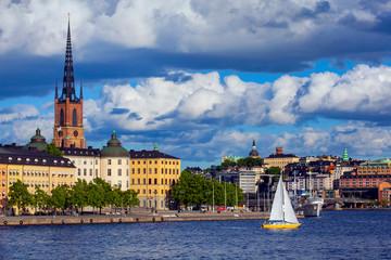 View of Stockholm Sweden, Riddarholmen