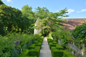 château de Losse et ses jardins