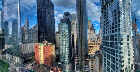 New York City Skyline from the Financial District