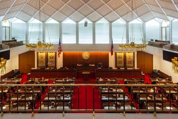 North Carolina State House of Representatives Chamber Wall mural