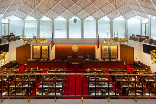North Carolina State House of Representatives Chamber