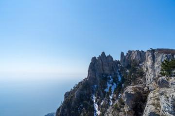 Image of a mountain peak.