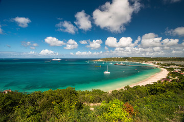 Anguilla beach, caribbean sea