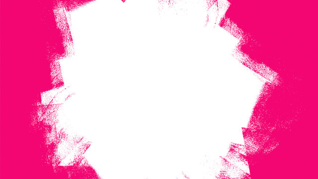 pink and white hand painted background texture with grunge brush strokes