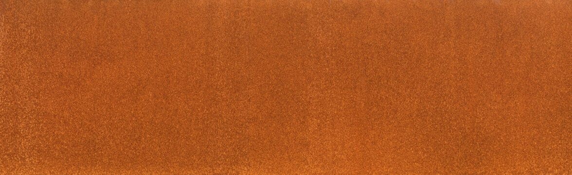 Hintergrund Cortenstahl Rosttextur als Banner homogene Rostoberfläche - Background rust texture as a panorama homogeneous rust surface cortensteel
