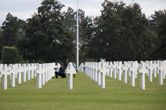 American Cemetery and Memorial, Normandy, France
