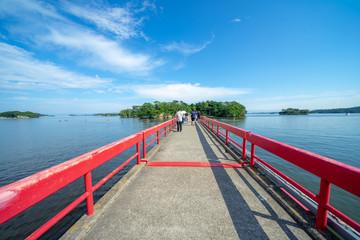 福浦橋と松島