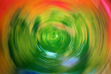 radial blur background, abstract colorful background