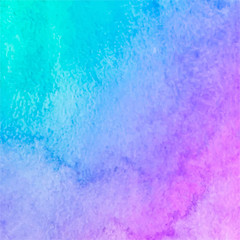 Abstract blue pink watercolor texture background.