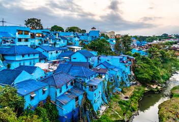 Kampung Warna-Warni Jodipan, the Village of Color in Malang, Indonesia