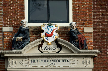 The Netherlands (aka Holland), West Friesland, Hoorn. Old woman's home, est. 1610.