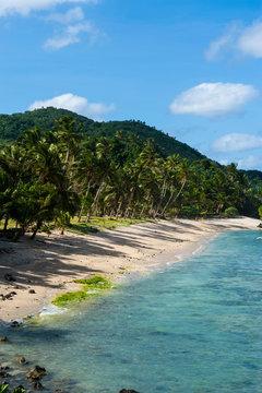 Two dollar beach on Tutuila island, American Samoa, South Pacific