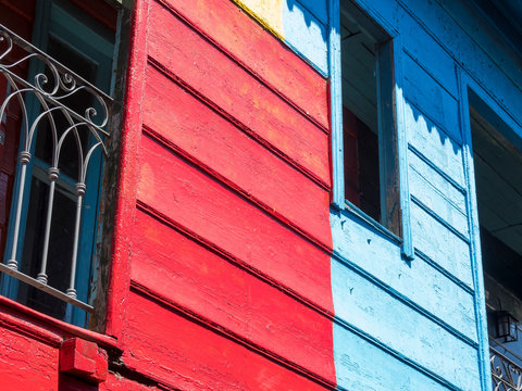 La Boca, this quarter is one of the main attraction of Buenos Aires, capital of Argentina.
