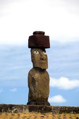Chile, Easter Island (aka Rapa Nui). Hanga Roa, Easter Island's only town.