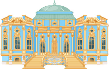 Blue Rococo Palace