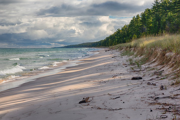 Michigan, Pictured Rocks National Lakeshore, Beaver Basin Wilderness, Twelvemile Beach