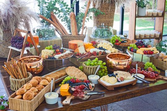 big, healthy buffet
