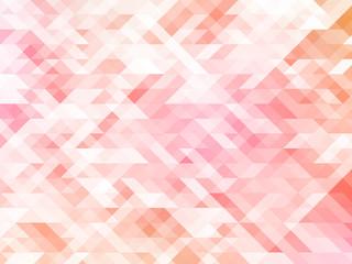 abstract polygon gradation_pink
