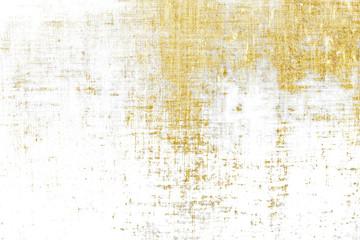 Gold brush stroke design element cloth knitted.