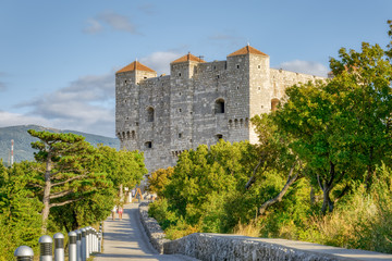 Medieval Castle - Nehaj Fortress in Senj, Croatia
