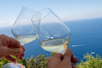 Ligurie Drink on the sea