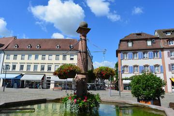 Marktplatz Emmedingen im Breisgau