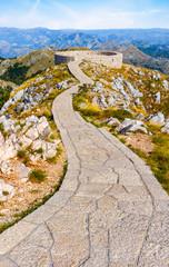 Viewpoint On Lovcen Mountain