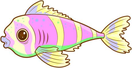 Foto op Canvas Sprookjeswereld Exotic Fish