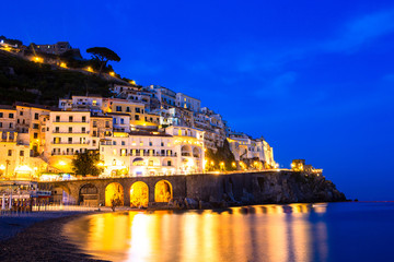 Beautiful coastal towns of Italy - scenic Amalfi in Amalfi coast