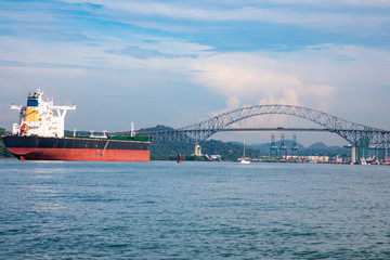 The bridge of the americas is a road bridge in Panama which spans the pacific entrance to the panama canal