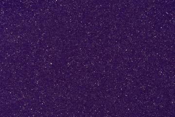 Close up of purple foam material