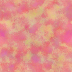 Tie-Dye Watercolor Pattern. Seamless Illustration for Textile and Backgrounds.