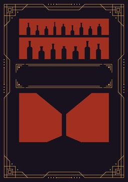 Art Deco Poster Template
