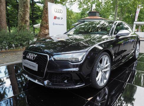 TURIN - JUN 2016: Audi RS 7 Sportback car