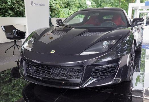 TURIN - JUN 2016: Lotus Evora 400 car