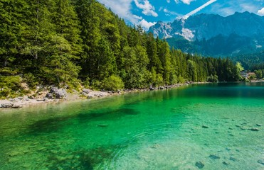 Wall Mural - Garmisch Partenkirchen Lake