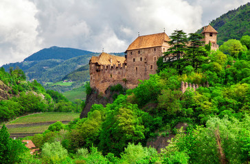 Runkelstein Castle (Castel Roncolo) is a medieval fortification near the city of Bolzano in South Tyrol, Italy.