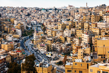 view of the old quarter of Amman